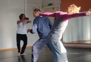 """""""45+: Lifelong practice as a dancer"""" meeting in Pärnu April, 2019"""