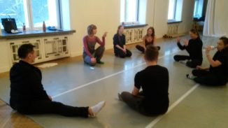 Movement research laboratory with Olga Zitluhina (Latvia).