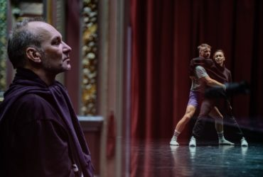 """Context.Diana Vishneva presented Fine5 Dance Theatre """"FN"""" in Moscow and in Peterburg."""